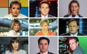 Así han cambiado los rostros más conocidos de los informativos
