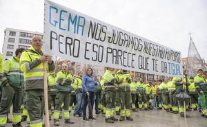 Los trabajadores de Parques y Jardines llevarán a los barrios de Santander su denuncia