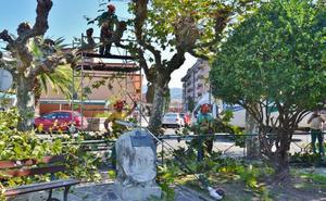 Los Corrales deja en manos de la empresa Idinat el mantenimiento de zonas verdes y jardines