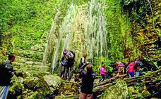 Las hermosas cascadas de Toranzo