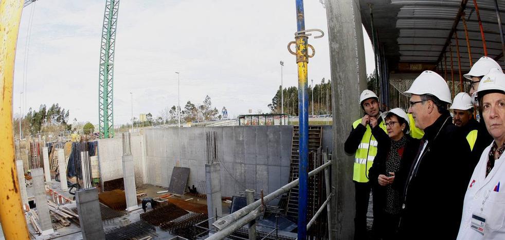El nuevo edificio de consultas del Hospital de Sierrallana estará listo en julio