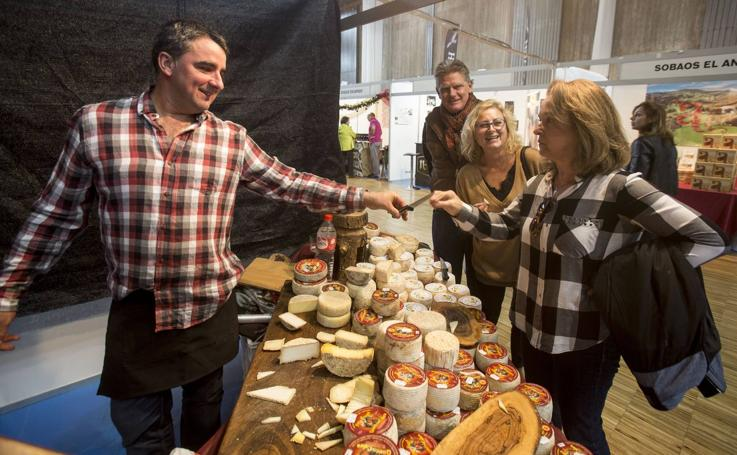 Los sabores y texturas cántabros, protagonistas de la Feria del Producto de Cantabria