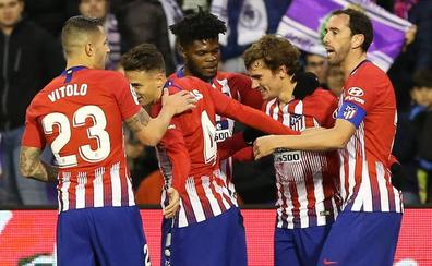 El Atlético despierta a tiempo