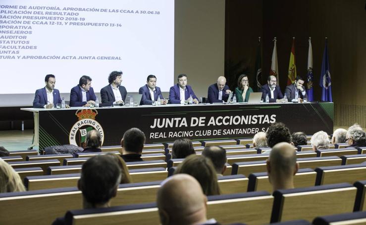 El Racing celebra su Junta de Accionistas