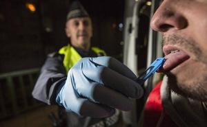 Un taxista de Santander dio positivo por cocaína en el 'drogotest'