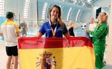 Paola Eguiluz: «Voy a luchar por el oro en el Campeonato de Europa»