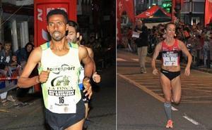Workneh Fikire y Zulema Fuentes-Pila ganaron la Carrera de Navidad de Piélagos