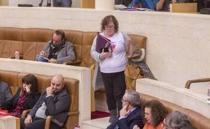 El Parlamento deniega el voto telemático a Ordóñez, que lo había solicitado para no sentarse con Blanco
