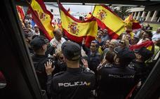 Dos condenados a una multa por agredir a un periodista antes del mitin de Pablo Iglesias en Santander
