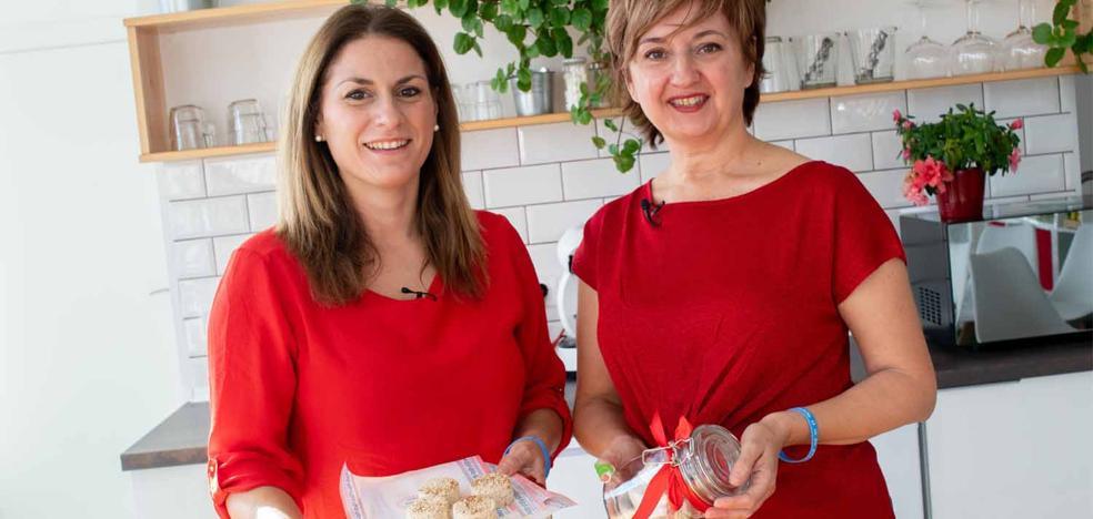 Cocinamos polvorones artesanos de almendras con Paloma Fernández