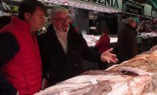 El chef Antonio Ruiz elige en 'La plaza' su cena de Nochebuena