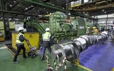 El bipartito bendice las propuestas por el negocio de grandes piezas de Sidenor
