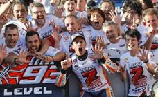 La carrera imparable de Marc Márquez
