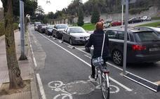 Castro completará el carril bici de Rucabado junto con las obras de los túneles de Ocharan