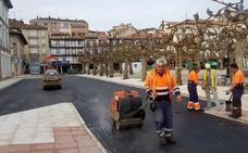San Vicente acomete en un tiempo récord la urbanización de la Plaza Mayor