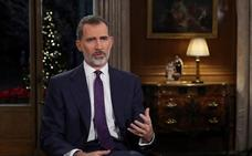 El mensaje navideño del rey fue seguido por 7,9 millones de espectadores