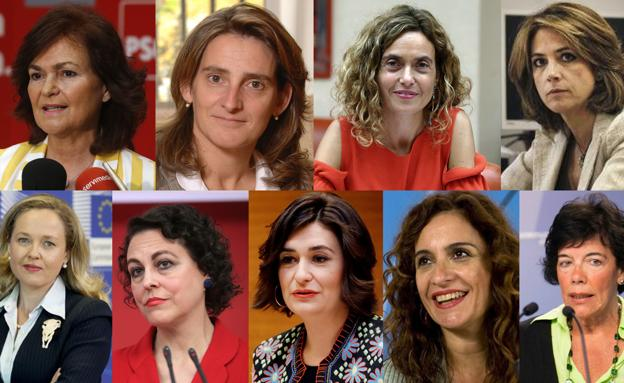 Pedro Sánchez formó el Gobierno más feminista de la Democracia.