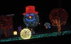 La casa de Navidad de Parbayón, todo un espectáculo