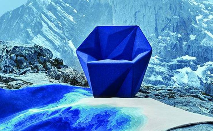 La revista AD lleva a los Picos de Europa piezas cumbre del diseño