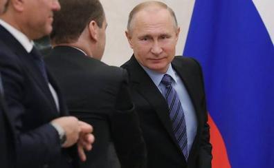 Putin asegura con una valla la separación de Crimea del resto de Ucrania