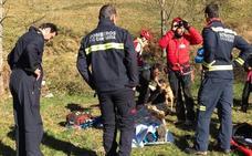 Rescatado en Camaleño un senderista con una fractura en la pierna