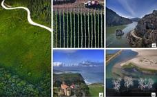Cantabria desde el cielo
