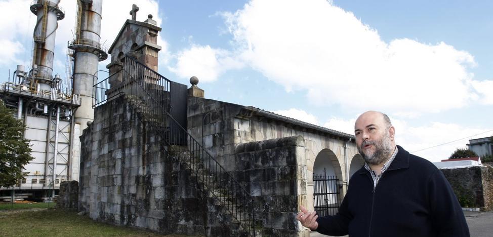 La iglesia de Dualez amenaza ruina por filtraciones de agua en el tejado