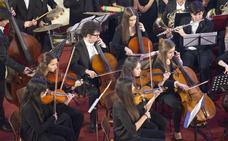 La orquesta UIMP Ataúlfo Argenta saluda 2019 con música centroeuropea