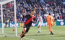 El Rayo golpea al Valladolid