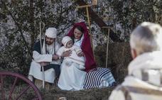 Seña revivió el nacimiento de Jesús