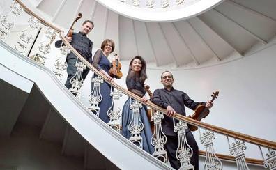 El cuarteto Brentano actuará este viernes en el Palacio de Festivales