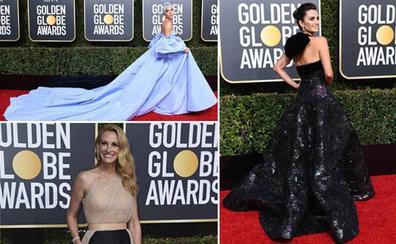 Una inspiradora noche de moda en los Globos de Oro