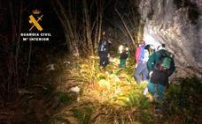 Dos senderitas son rescatados por el GREIM al no encontrar el camino de vuelta en la ruta Urdón-Tresviso