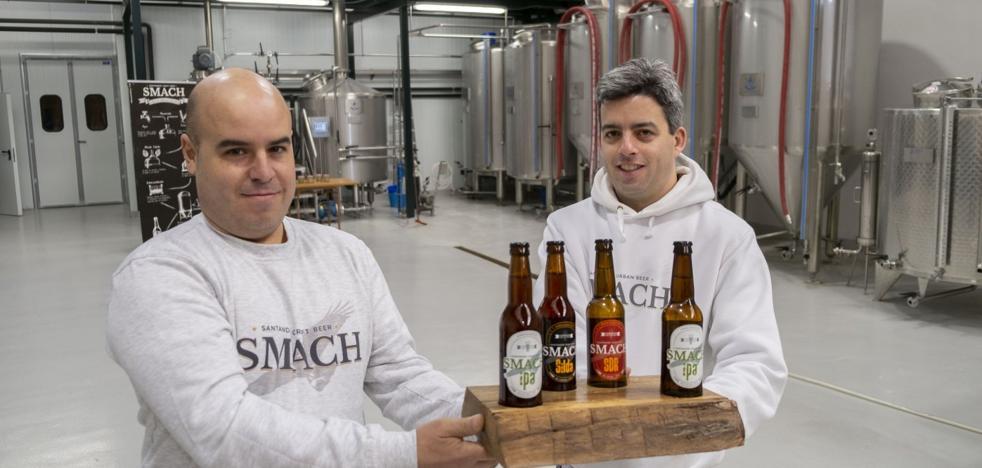 Smach, la cerveza 'made in Camargo' que apuesta por el sabor tradicional