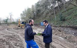 La construcción de un parque en 'La Charca' podría concluir en abril