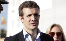 Casado reivindica la constitucionalidad de Vox mientras sitúa a Sánchez contra la Carta Magna