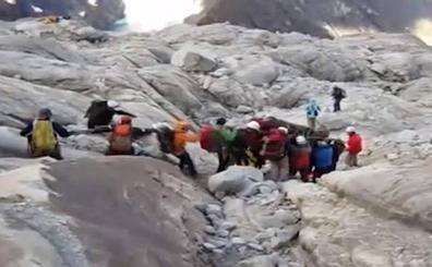 Los alpinistas achacan la avalancha de los Andes de Perú al cambio climático