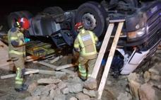 Muere un camionero de Santander en un accidente de tráfico en la provincia de Teruel