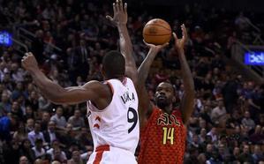Ibaka brilla en el triunfo de los Raptors
