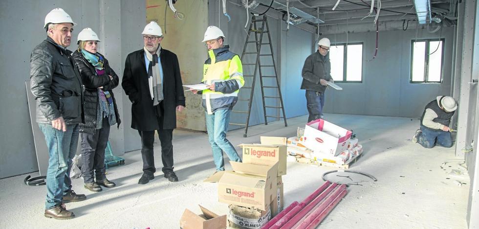 El nuevo edificio de la Biblioteca Municipal de Camargo estará listo a principios de abril