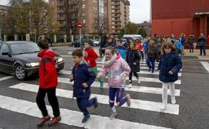 Rutas seguras para llegar al colegio
