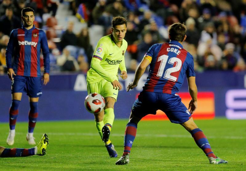 El reto del Barça, recuperar al mejor Coutinho