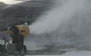 Alto Campoo abre este sábado, a pesar de la escasez de nieve