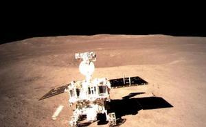 El robot chino afronta el desafío de los cráteres en la cara oculta de la Luna