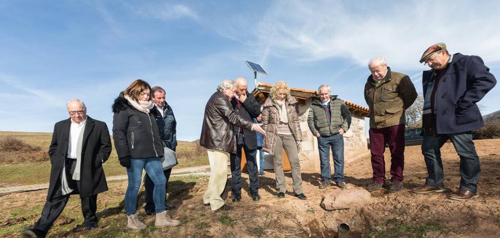 Medio Ambiente invierte 634.000 euros en el abastecimiento y el saneamiento de Campoo de Suso