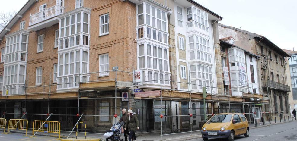 El Ayuntamiento de Reinosa ordena el derribo de los cuatro edificios del centro desalojados