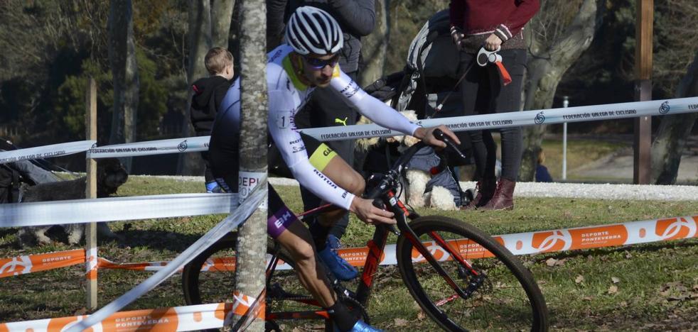 Ismael Esteban, subcampeón de España de ciclocross