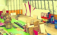 Potes construye un rocódromo en su pabellón municipal