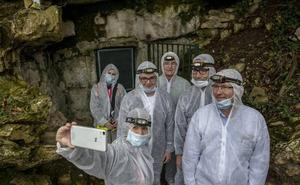 Ontañón asegura que las visitas a la cueva de Altamira se retomarán «cuando cambie el tiempo»