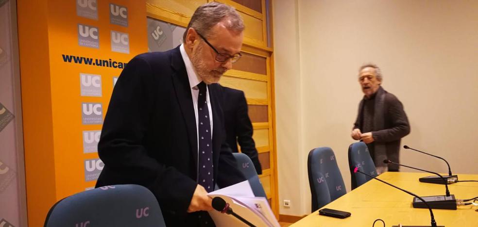 El rector Ángel Pazos revela «el chantaje y las amenazas» que sufre la UC desde diciembre